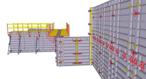 Concrete Formwork Planning Made Quick and Easy with Tekla Structures