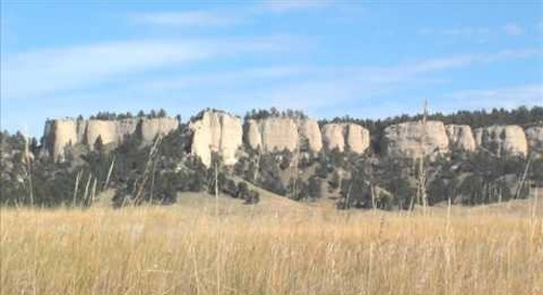 Fall Montage Chadron & Fort Robinson