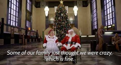 Meet the Real Mr. and Mrs. Santa Claus (docu-style)