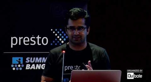 """Presto Summit India 2019 - """"Towards GDPR CCPA compliance with Hive ACID"""""""