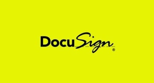 For the most important moments in business and life, We DocuSign.