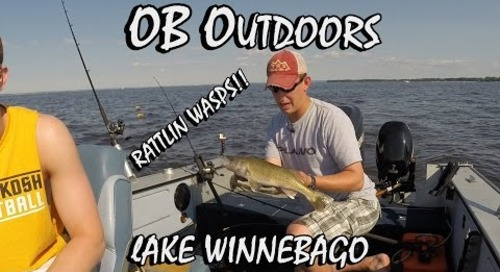 Trolling Lake Winnebago: Rattlin Wasp Info Segment