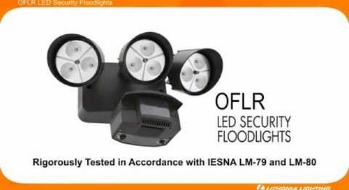 Lithonia Lighting - OFLR LED Security Floodlights