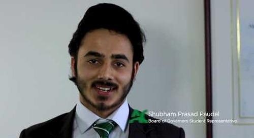 Shubham Prasad Paudel – Board of Governors Student Representative