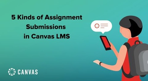 Five Kinds of Assignment Submissions in Canvas