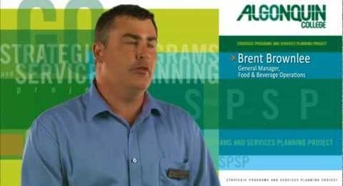 Brent Brownlee - General Manager, Food & Beverage Operations, Algonquin College
