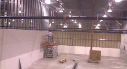 Data Center Build Time Lapse Video #5
