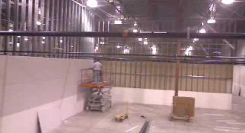 Data Center Build Time Lapse Video #5