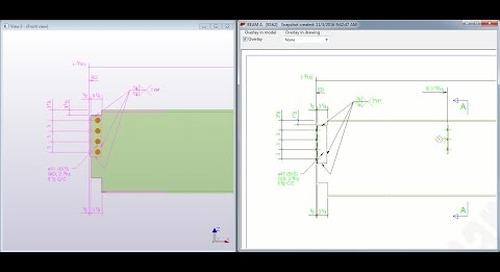 Tekla Structures Snapshot Overlay