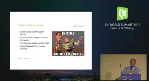 QtWS15- Building Desktop and Embedded Uis with Qt 3D, Sean Harmer, Dr , KDAB