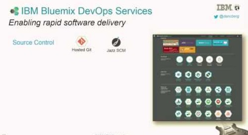 IBM Codename: BlueMix DevOps Services for Rapid Software Delivery (Cloud Foundry Summit 2014)