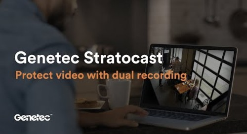 Protect video with Stratocast dual recording