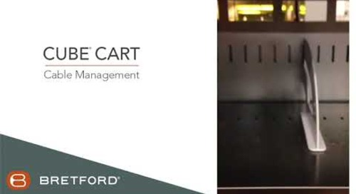 Bretford: Cube® Charging Cart - Cable Management Video