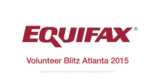 Equifax Volunteer Blitz 2015 - Atlanta