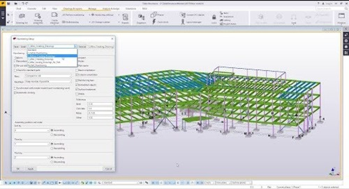 Numbering Settings in Tekla Structures