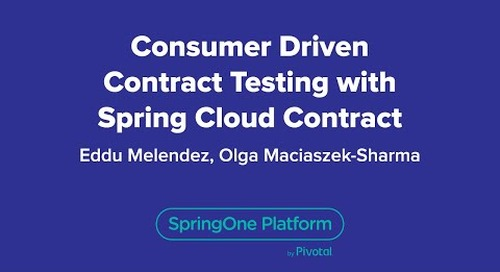 Consumer Driven Contract Testing with Spring Cloud Contract