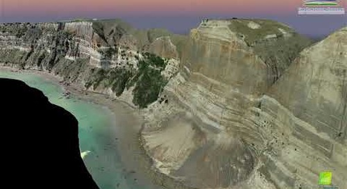 Cape Kidnappers Fly Through