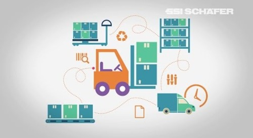 Supply Chain Optimierung, Palettenlager, Behälterlager, Natura Brasil