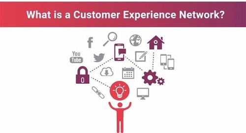 What is a customer experience network?