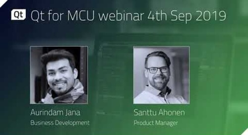 Qt for MCUs {On-demand webinar}