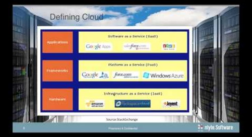 To Cloud or Not To Cloud: A Perspective from a Data Center Vice President - Webinar Recording