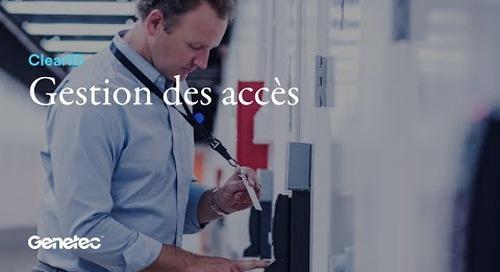 ClearID - Gestion des accès