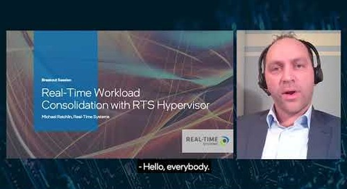RTS Hypervisor: Workload Consolidation for Real-Time AI