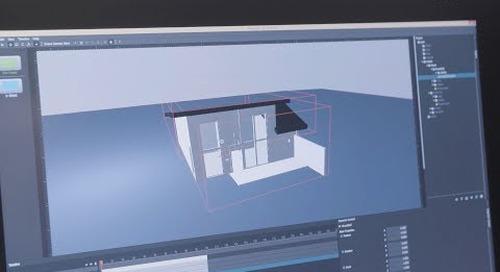 Qt 3D Studio Home Automation Demo