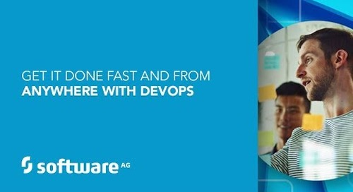 Get more done, faster & from anywhere – with webMethods Devops