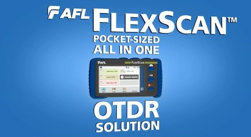 AFL FlexScan OTDR Product Demonstration