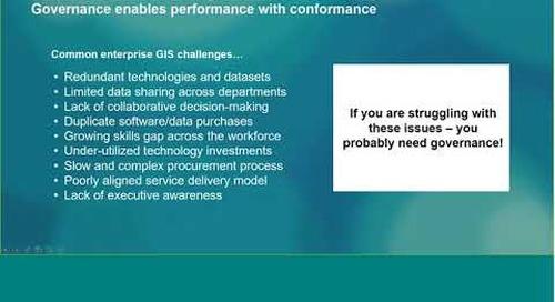 Governance for GIS