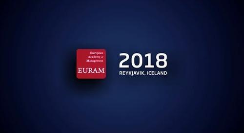 EURAM conference in Reykjavik, Iceland - June 2018