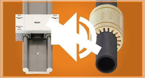 Linear bearing sound test: Plastic vs. Metal