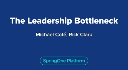 The Leadership Bottleneck