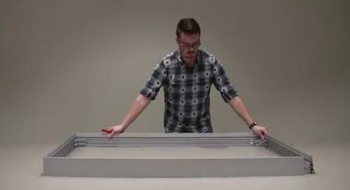 FH1001 Lightbox:  Frame Assembly