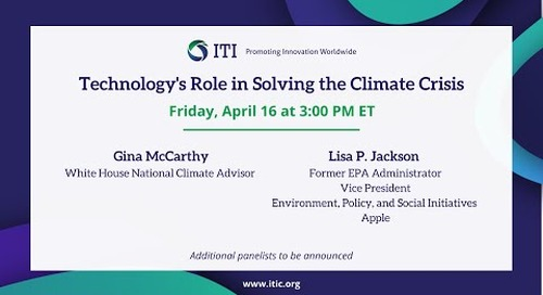 Virtual Event: Tech's Role in Addressing the Climate Crisis