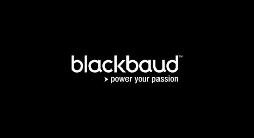 Blackbaud's Purpose