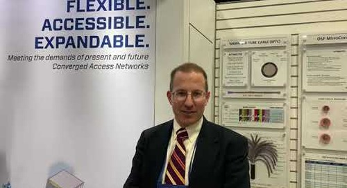 Josh is talking Access Networks at ISE Expo 2021 booth #521