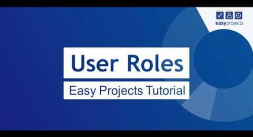 User Roles - Easy Projects Tutorial