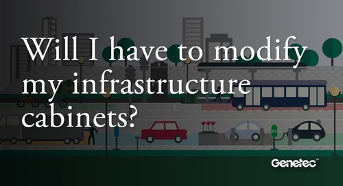Will I have to modify my infrastructure cabinets to install your solution?