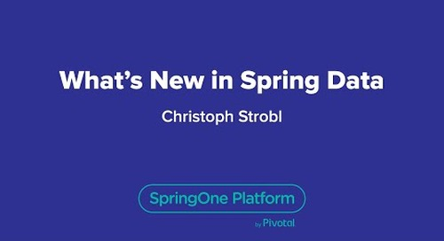 What's New in Spring Data