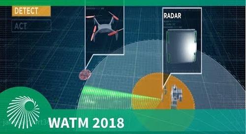 WATM 2018: Hensoldt 'XPELLER' counter UAS system
