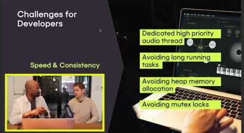 Making music: Architecting realtime audio development with QML –DevDes 2021