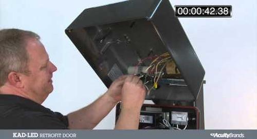 KAD-LED Retrofit Door Timed Installation Video