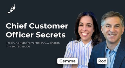 Driving Strategic Vision in Customer Success, with Rod Cherkas, HelloCCO