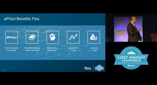 Flex Uses aPriori Across the Globe as Their One Consistent Costing Tool | Mini Clip