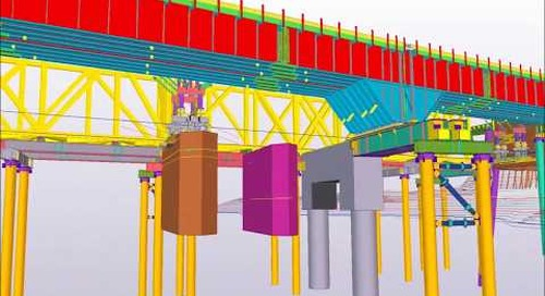 2016 North American BIM Awards - CSX Bridge