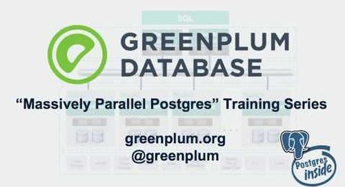 Greenplum Fundamentals