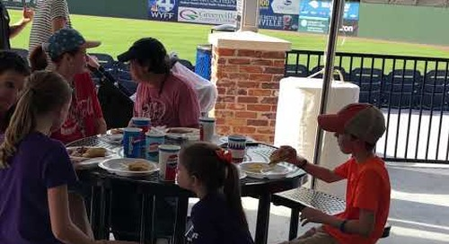 Thank You AFL from Greenville Drive