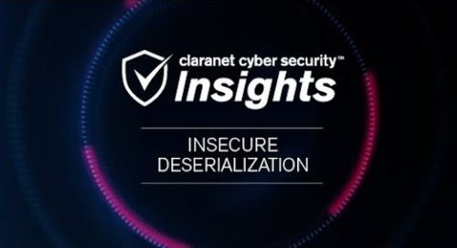 OWASP Top 10: Insecure Deserialization